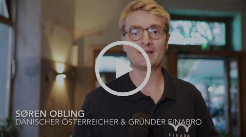 Videostatement der FINABRO-Geschäftsführer Sören Obling und Oliver Lintner über die Gründung von FINABRO.